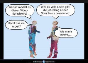 Video-Deutschkurs