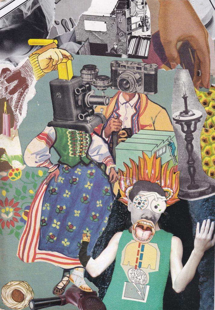 Collage: Brandstifter & Ross Scott-Buccleuch